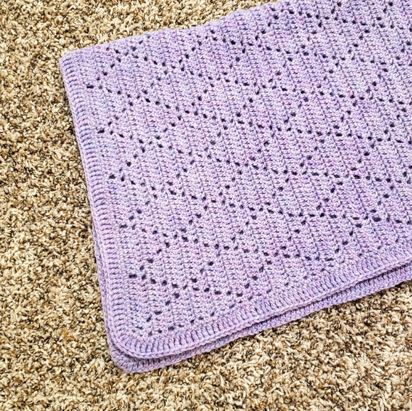 3/$20! Beautiful Crochet Baby Blanket